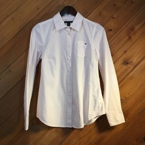 Tommy Hilfiger Long Sleeve Button Front Shirt, SP